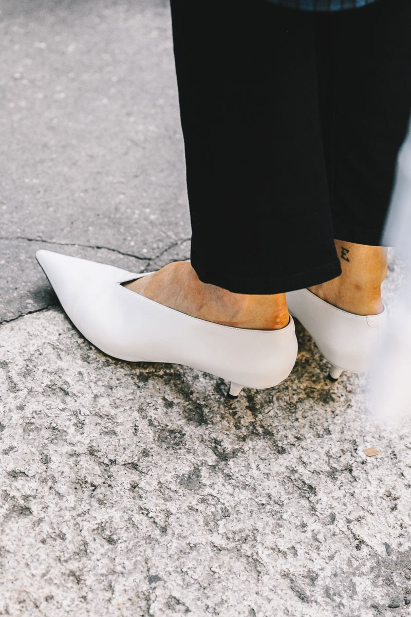 kitten heels ..